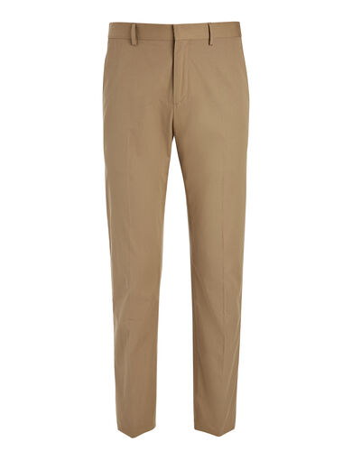 Light Cotton Jack Trouser, in CLAY, large | on Joseph