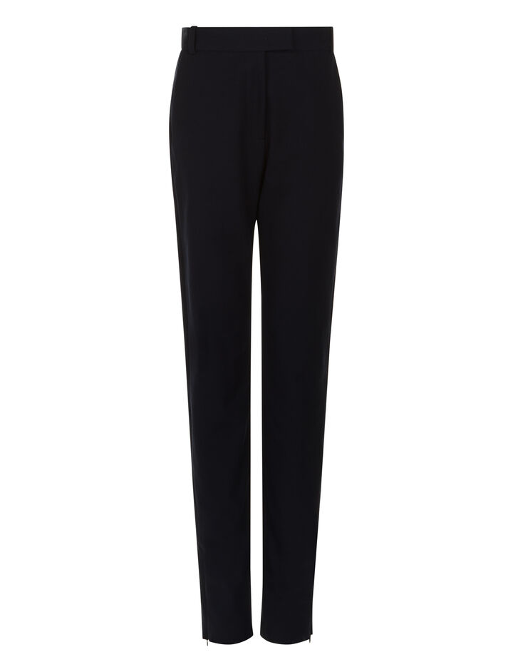 Joseph, Reeve Gabardine Stretch Trousers, in NAVY