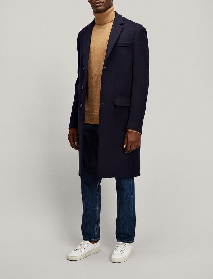 Joseph, London Tailored Coat, in NAVY
