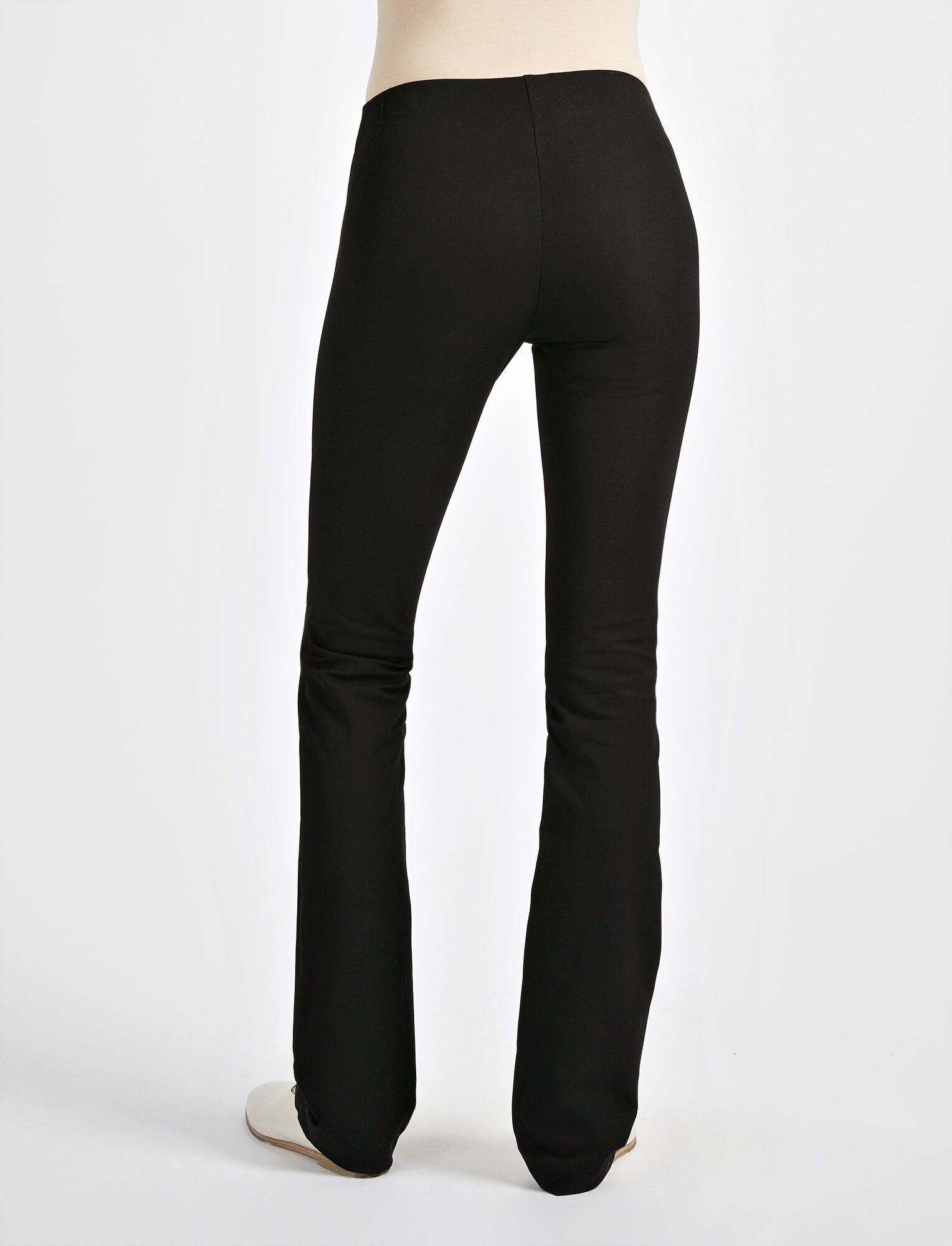 Joseph, Pantalon Lex en gabardine stretch, in BLACK