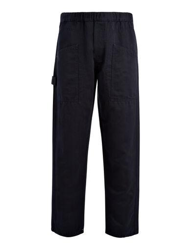 Pantalon Angus en lin et coton, in NAVY, large | on Joseph