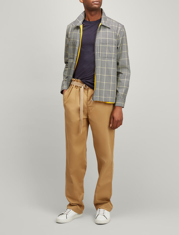 Twill Chino Luis Trousers, in CAMEL, large | on Joseph