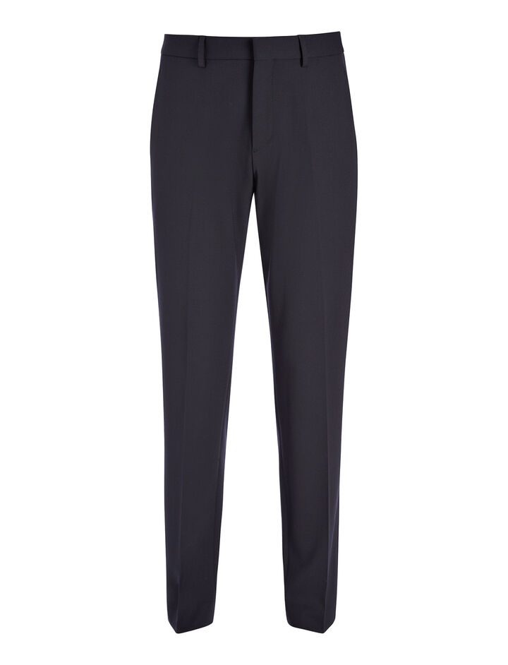 Techno Wool Stretch Jack Trouser, in NAVY, large | on Joseph