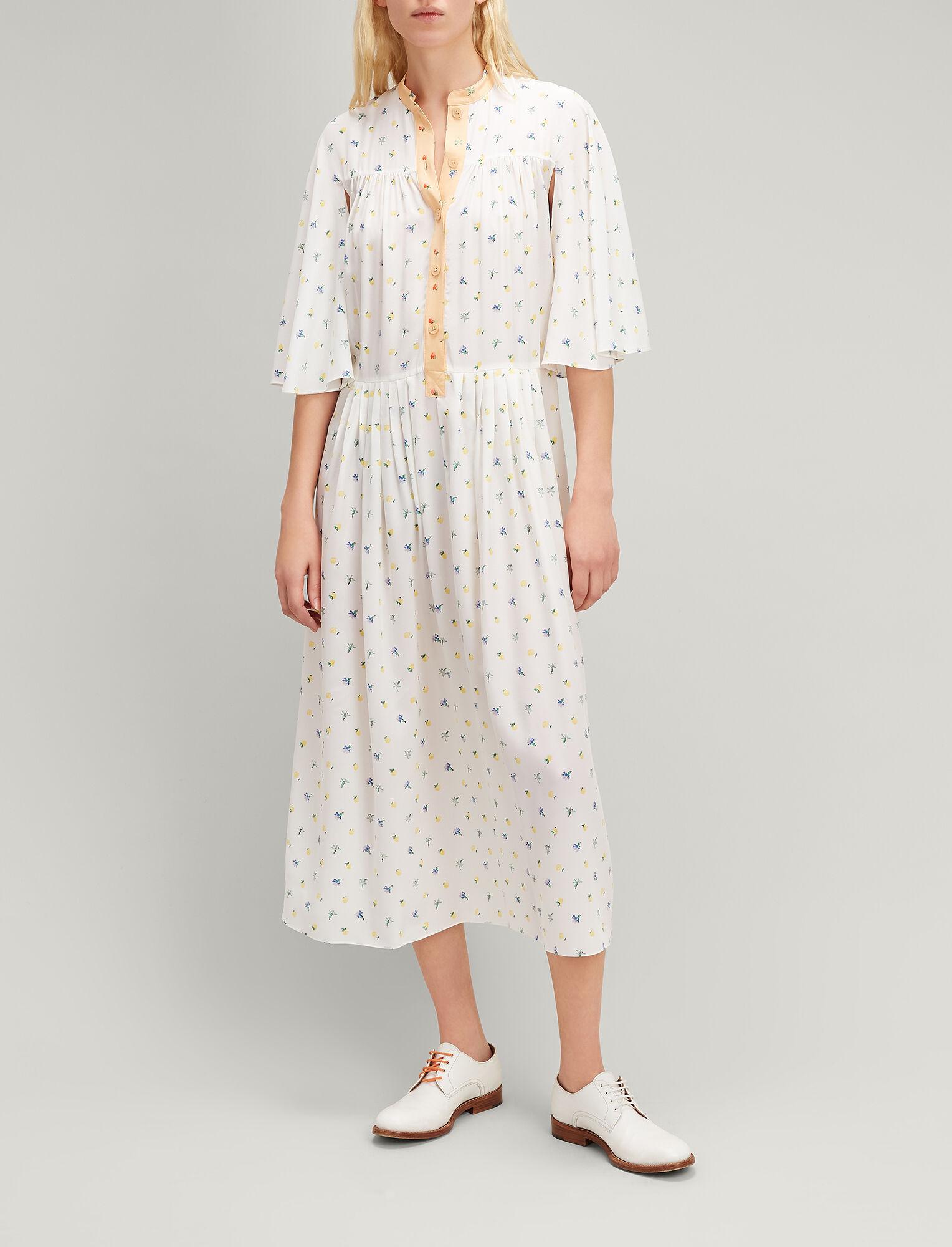 Morrisson floral-print silk dress Joseph Buy Cheap Latest Collections Zu1nvV4
