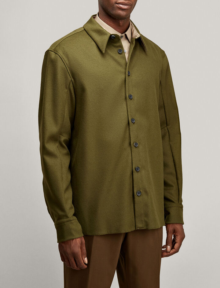 Joseph, Jean Marc Felt Shirt, in MILITARY