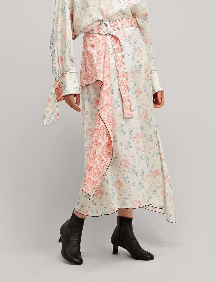 Joseph, Sybil Peony Poppy Skirt, in MULTICOLOUR