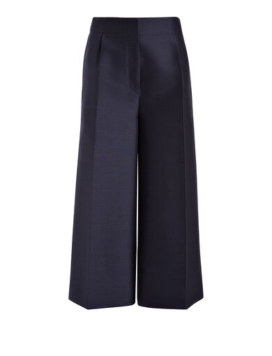 Pantalon Mika en faile suiting, in NAVY, large | on Joseph