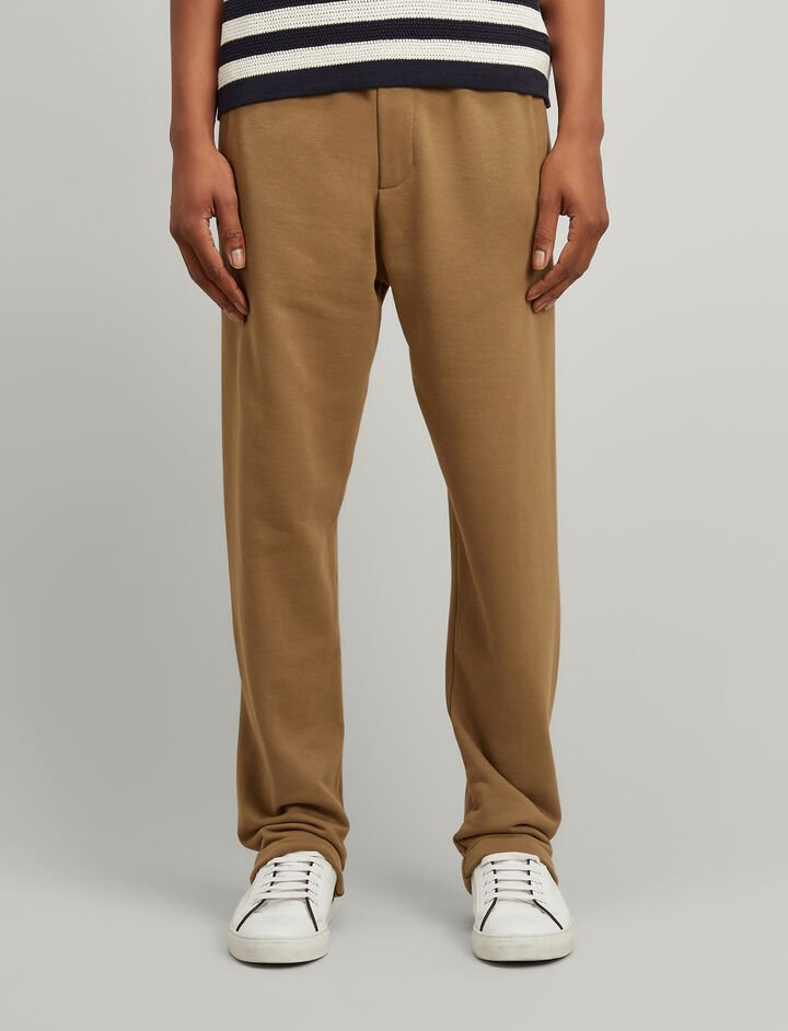 Jersey Sweat Trackpants, in TAWNY, large | on Joseph