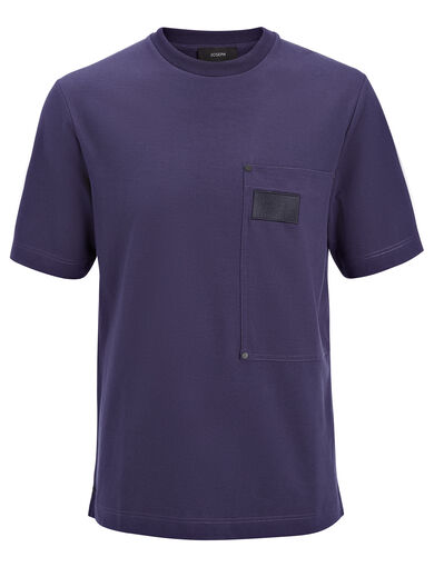 Heavy T-Shirting Tee, in MARINE, large | on Joseph