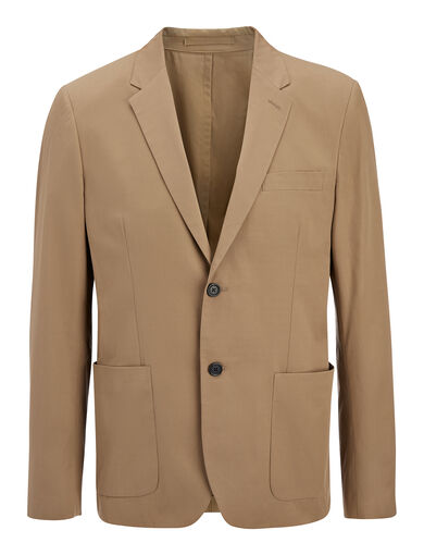 Light Cotton Filton Jacket, in CLAY, large | on Joseph
