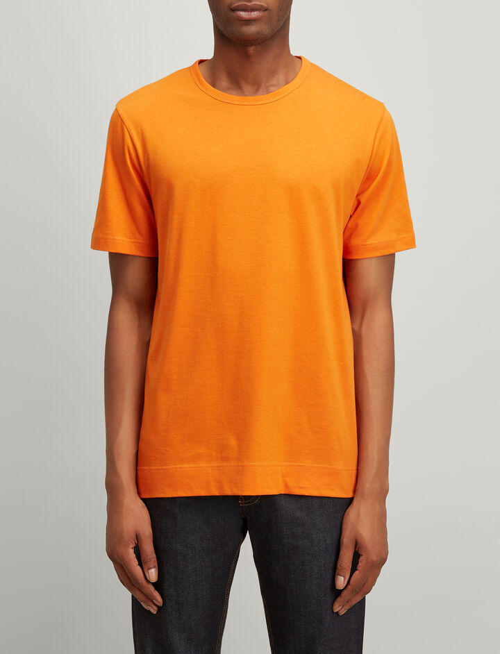 Joseph, Mercerized Jersey Tee, in FIRE