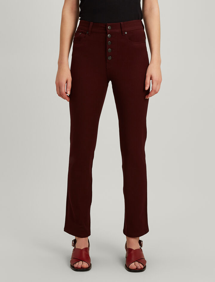 Joseph, Gabardine stretch Den Trousers, in MORGON