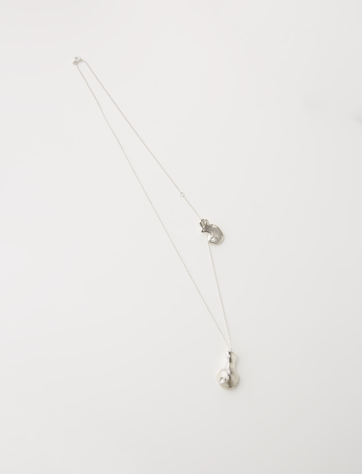 Joseph, The Floating Talisman Necklace, in SILVER