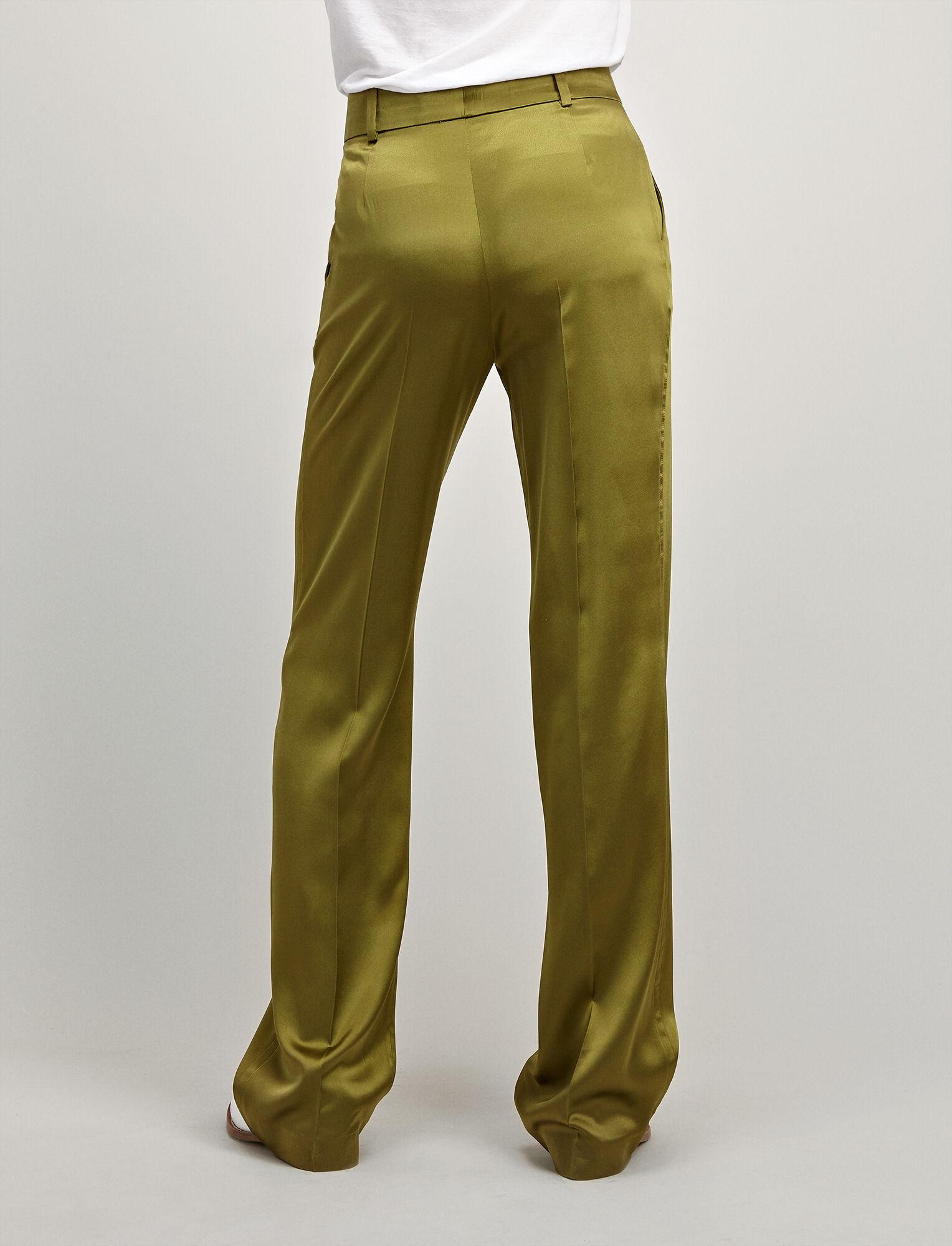 Joseph, Silk-Satin Ferdy Trousers, in PEA