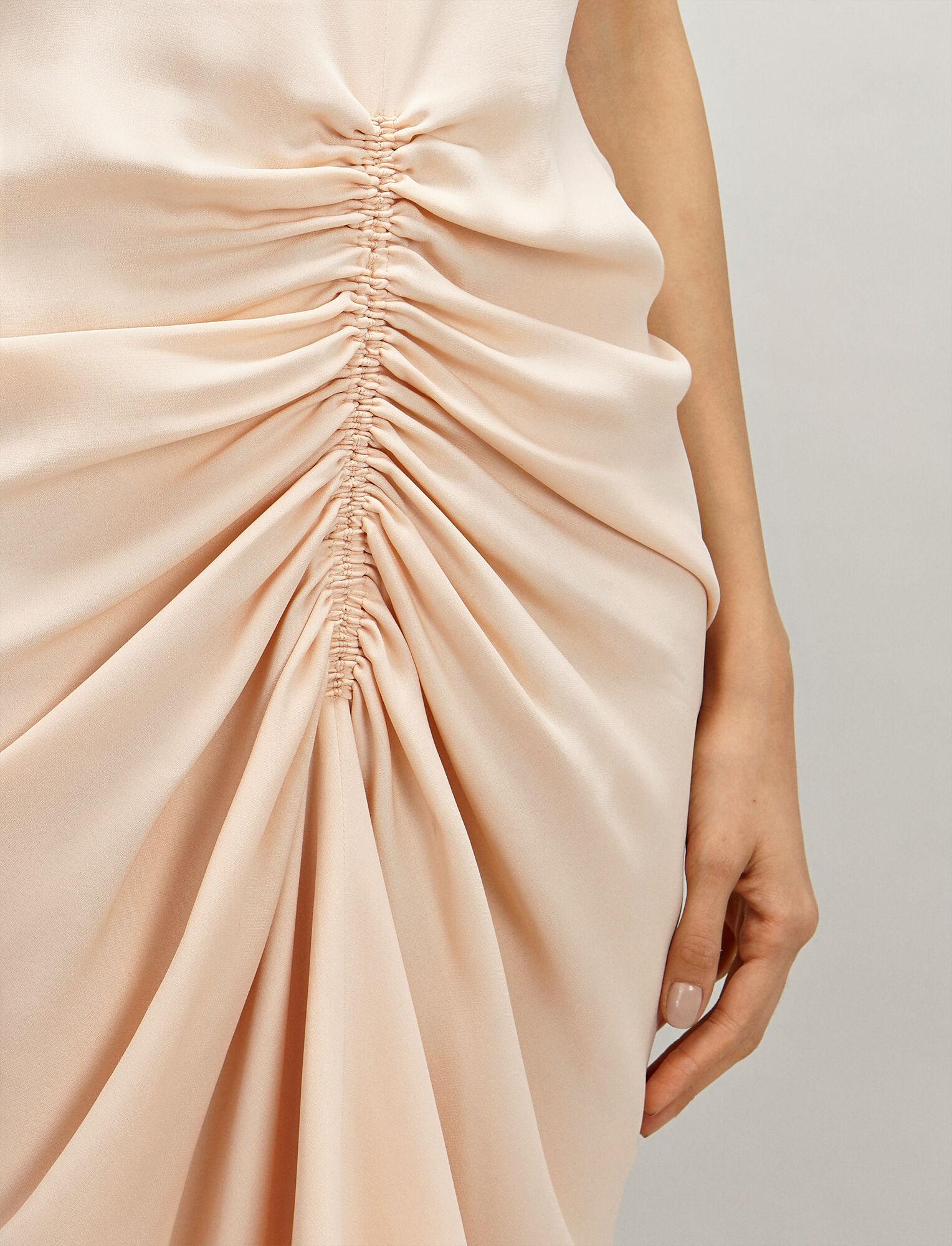 Joseph, Crepe Silk Zadie Dress, in CERAMIC