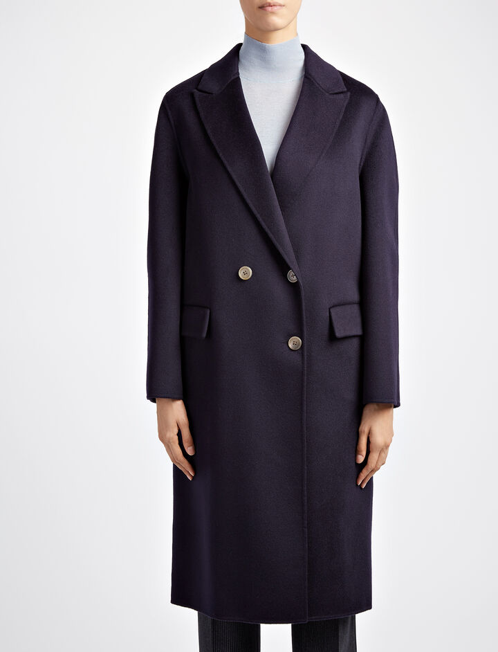 Joseph, Pure Cashmere Kino Coat, in NAVY
