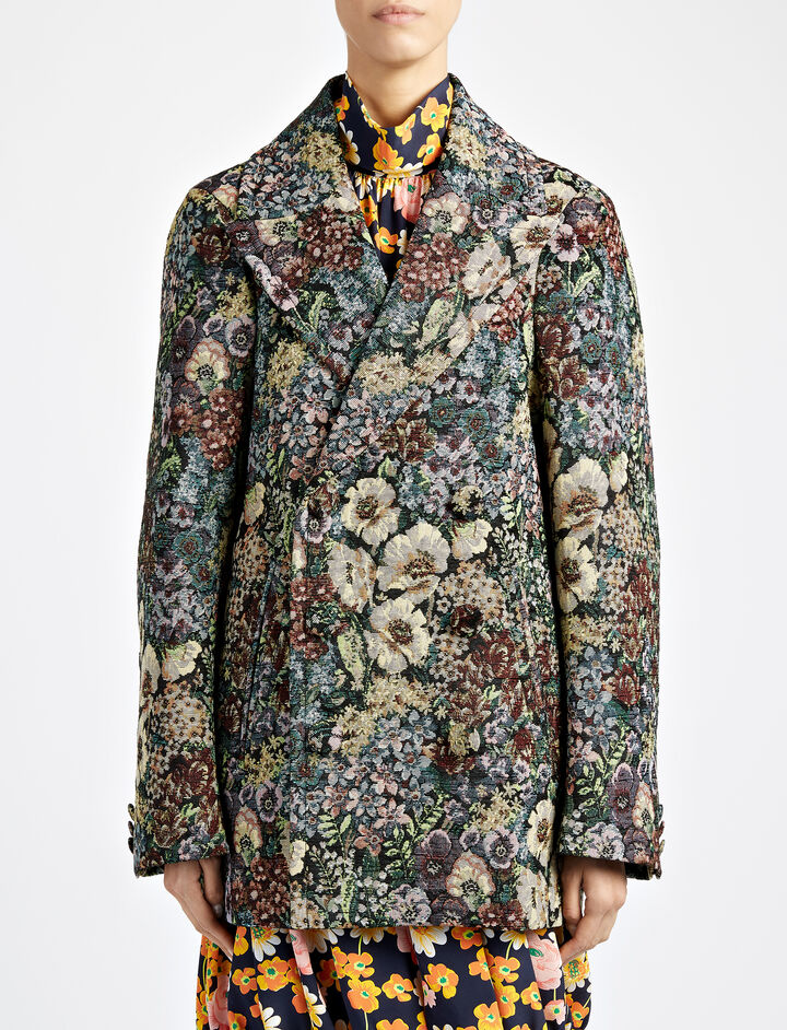 Tapestry Vintage Sys Jacket, in MULTICOLOR, large | on Joseph