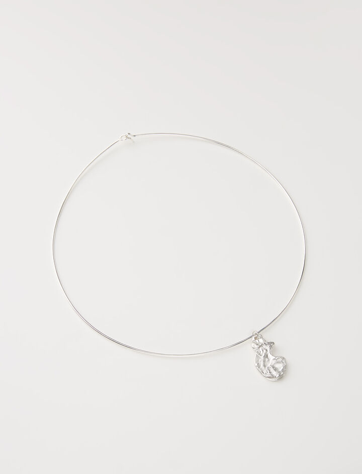 Joseph, The Floating Talisman Choker, in SILVER