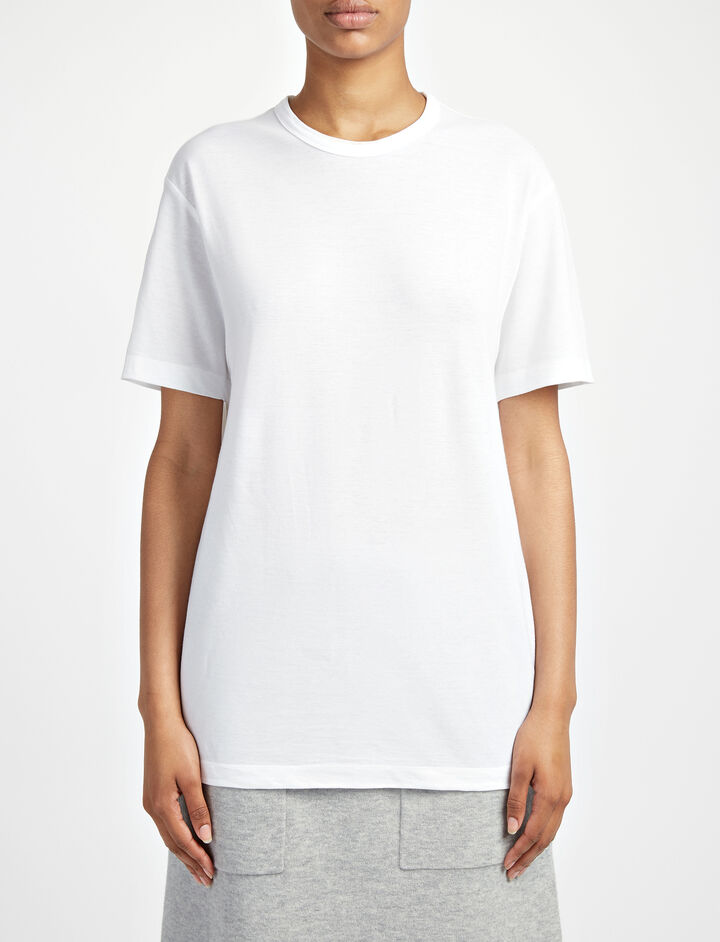 Everyday Tee, in WHITE, large | on Joseph