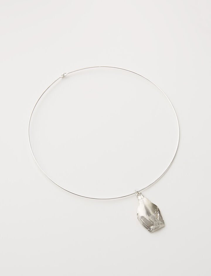 La Pina Choker, in SILVER, large | on Joseph
