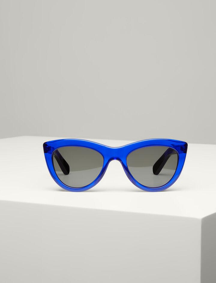 Joseph, Montaigne Sunglasses, in COBALT BLUE