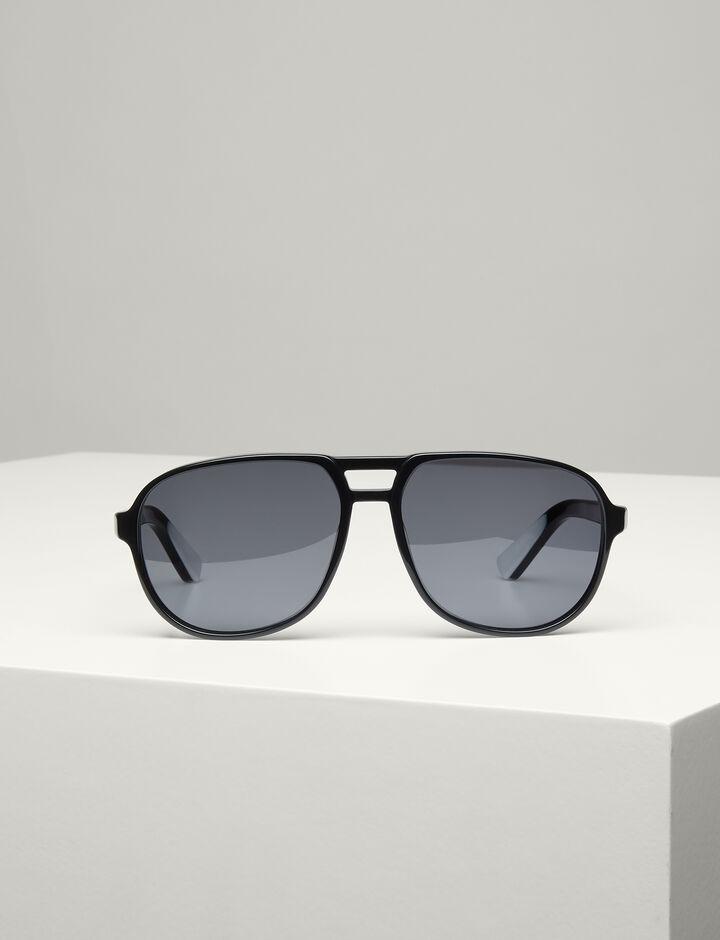 Joseph, Brompton Sunglasses, in BLACK