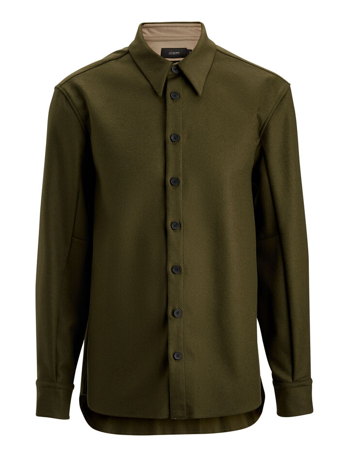 Joseph, Jean Marc Felt Shirt, in MILITARY