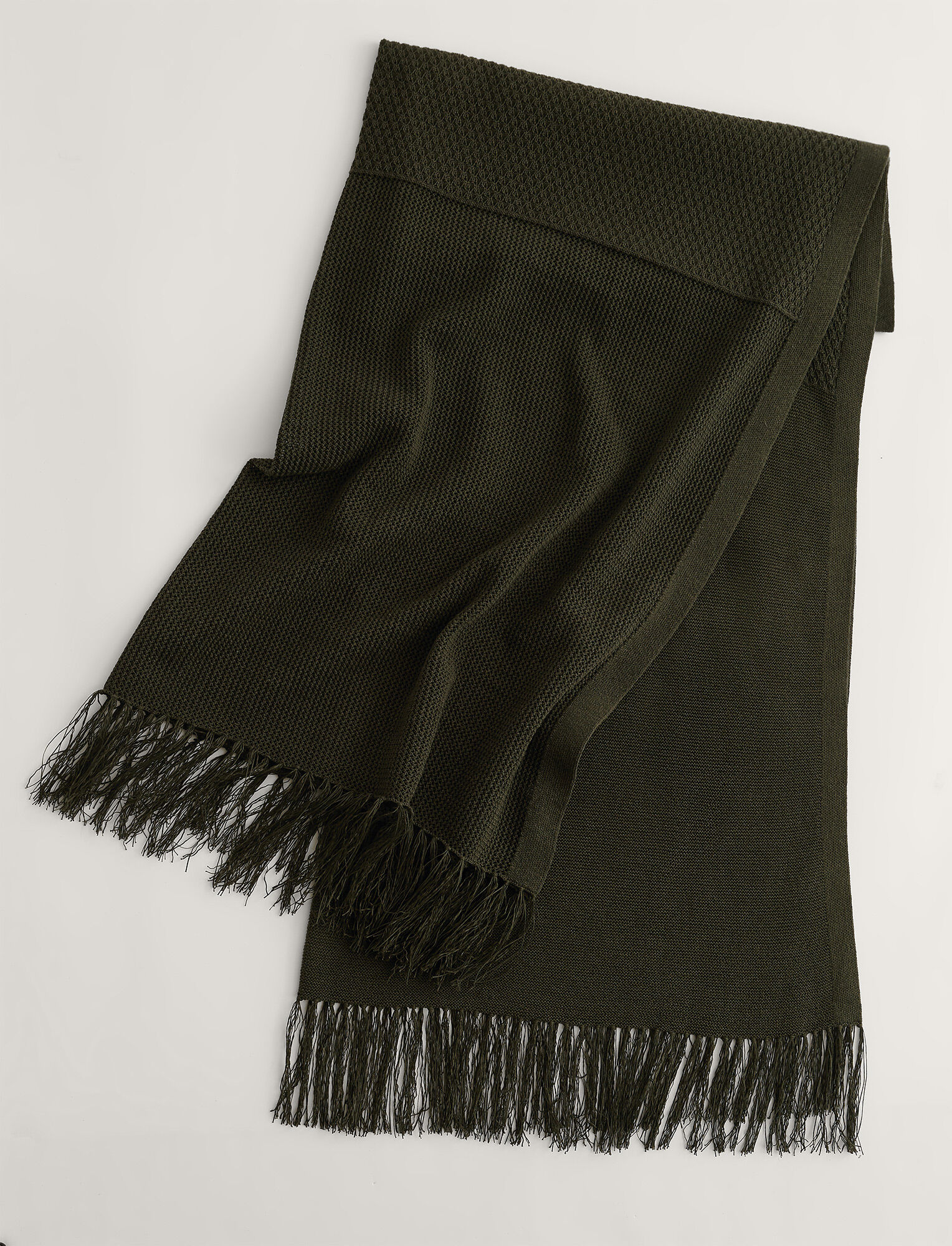 Joseph, Crispy Cotton Pareo Scarf, in ARGIL