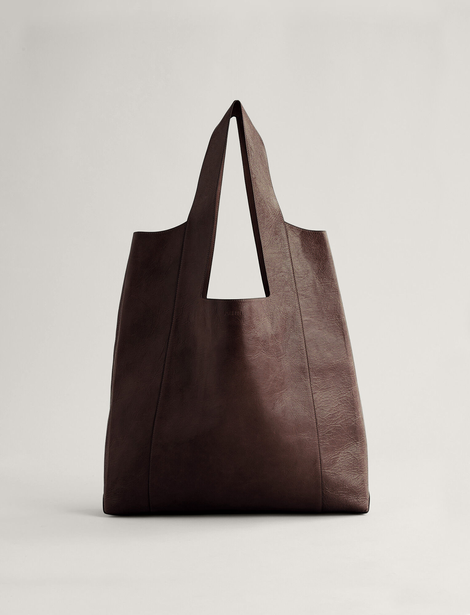 Joseph, Westbourne Leather Bag, in MAHOGANY