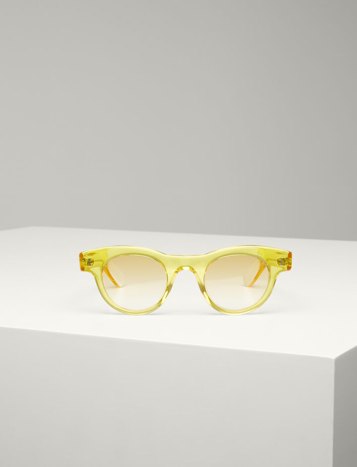 Joseph, Martin Sunglasses, in TRANSPARENT YOLK