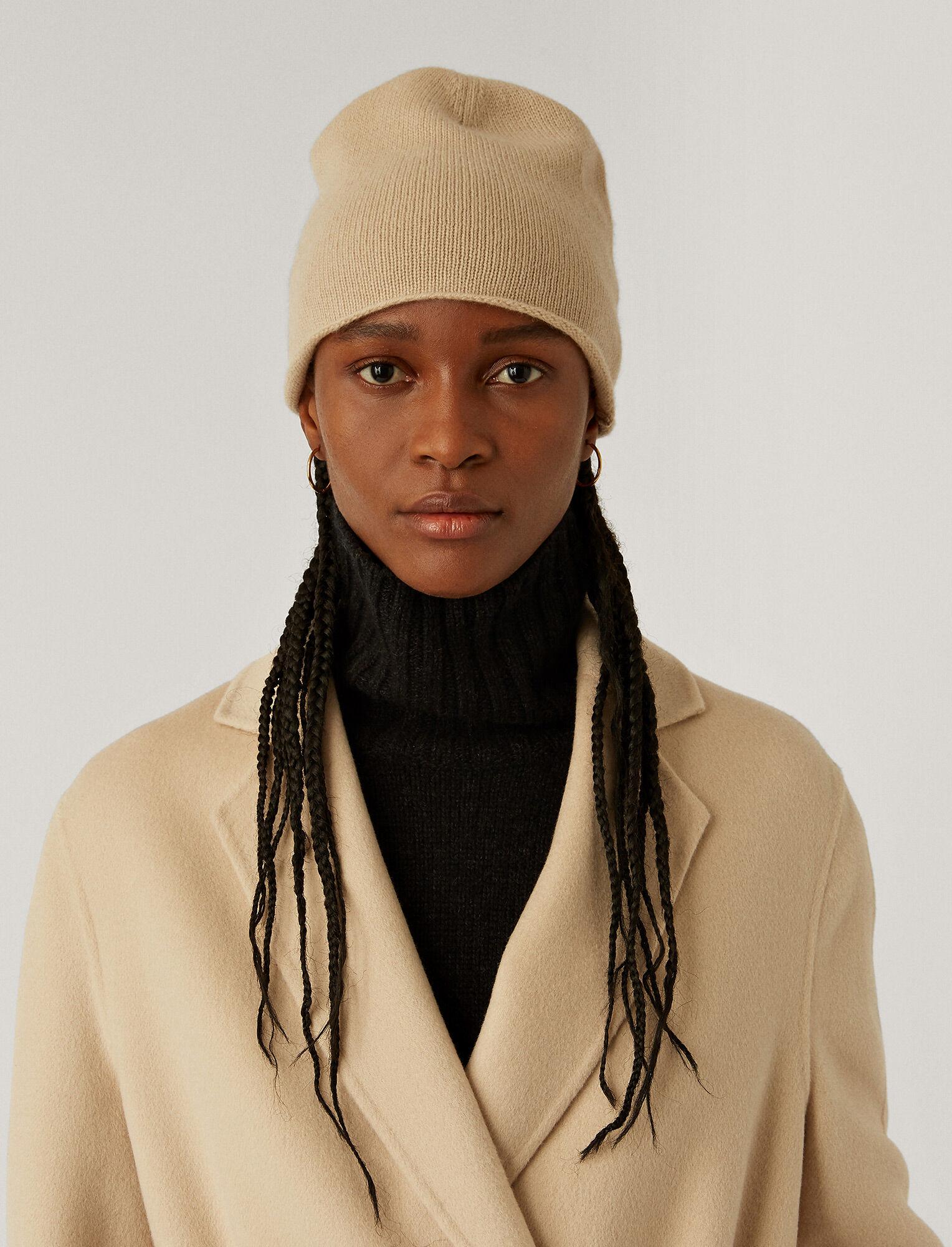 Joseph, Pure Cashmere Hat, in CHAMPAGNE