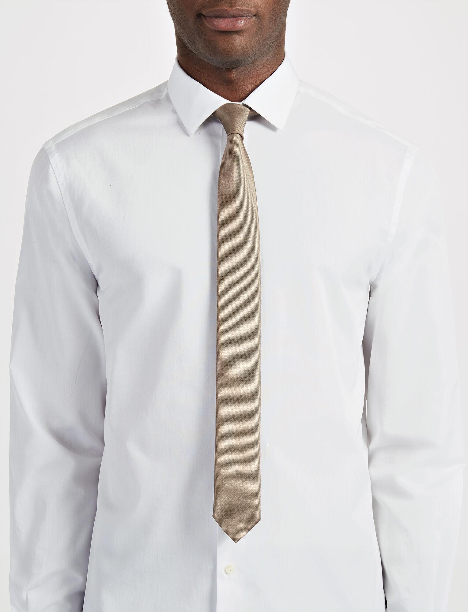 Joseph, Silk Tie, in CLAY