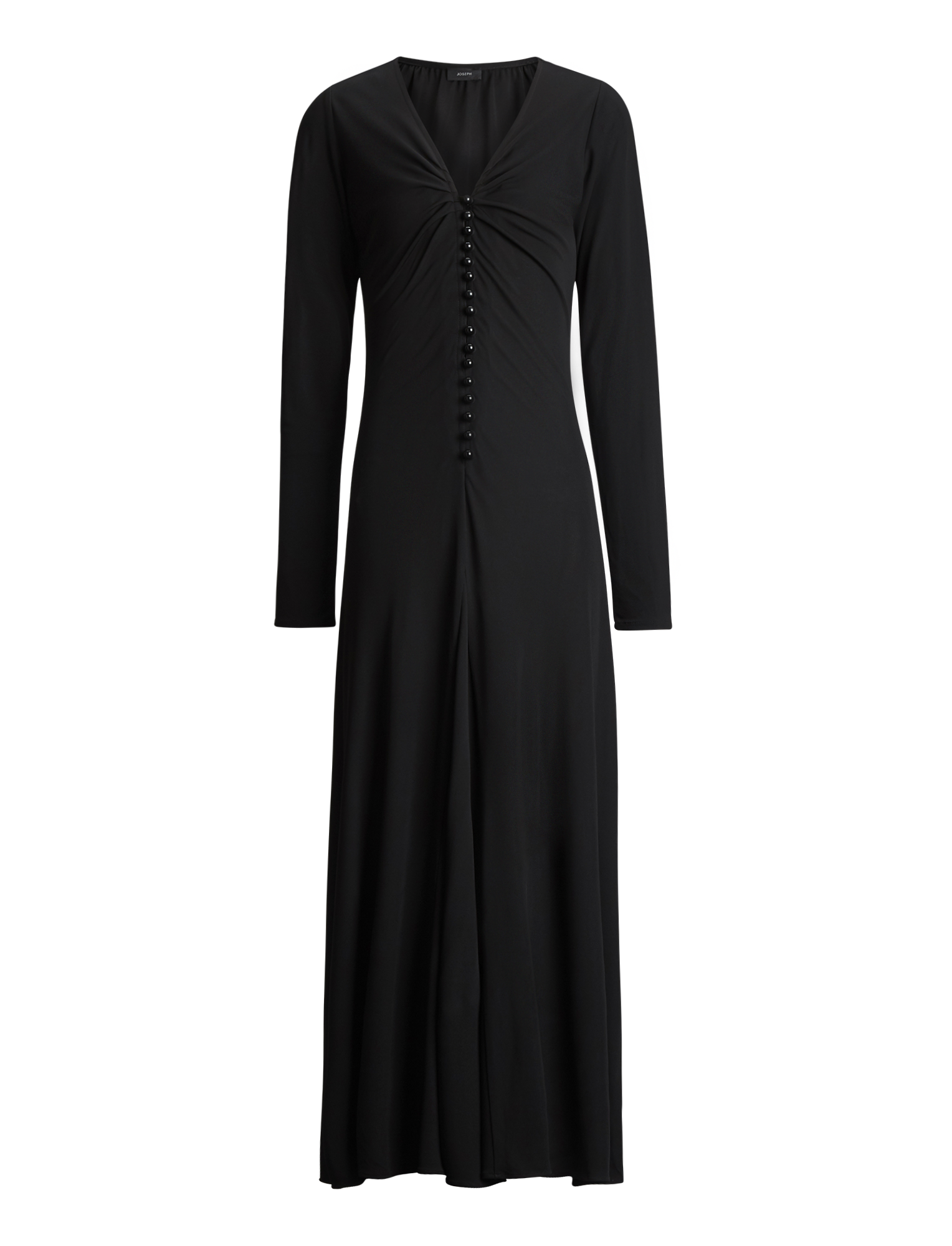 Joseph, Marlene Crepe Jersey Dress, in BLACK