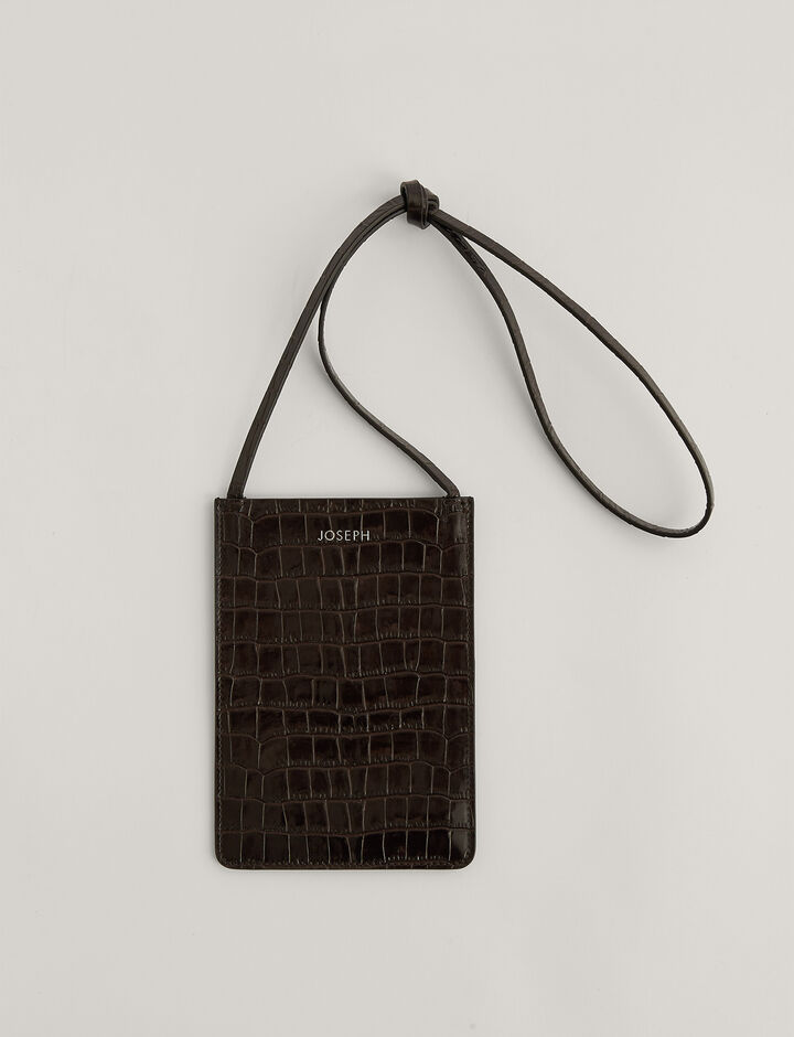Joseph, Pocket Bag , in Chocolate