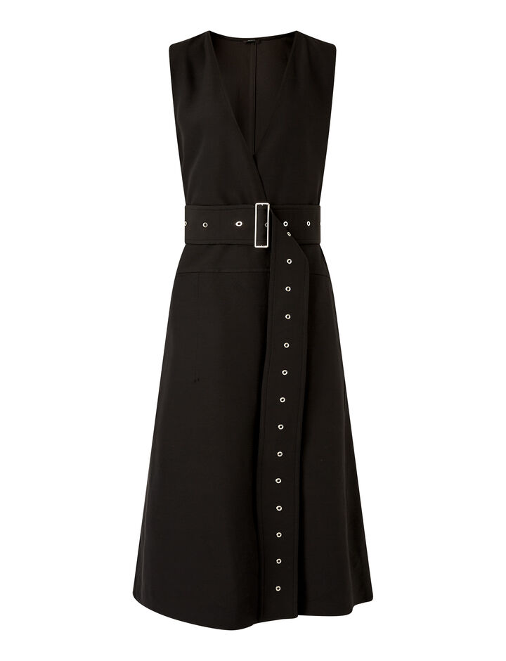 Joseph, Dorail Dresses, in Black