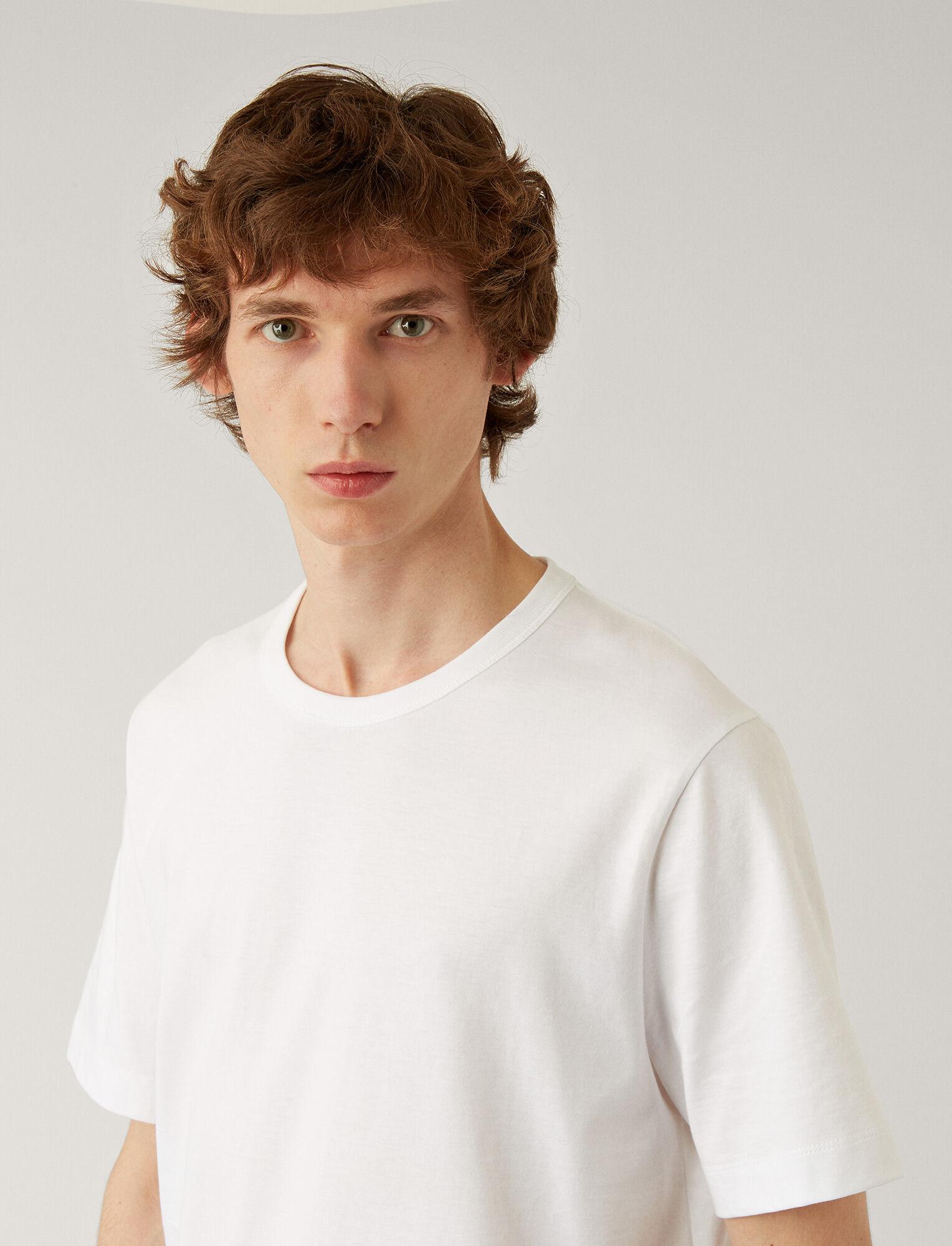 Joseph, Perfect Tee, in WHITE