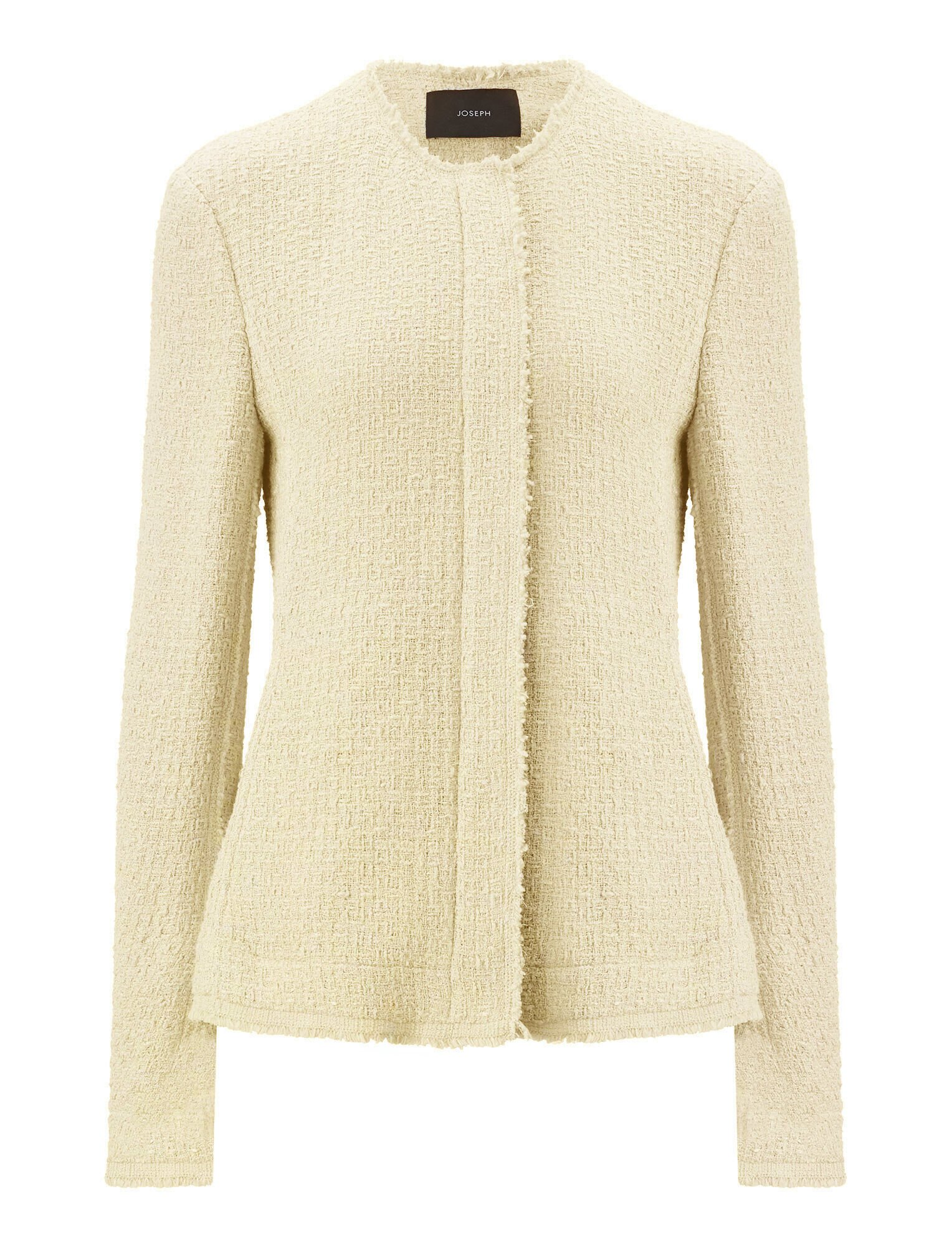 Joseph, Jerra Tweed Jacket, in CREAM