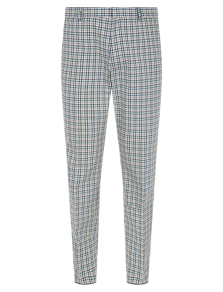 Joseph, Ernest Bowling Check Trousers, in BLACK