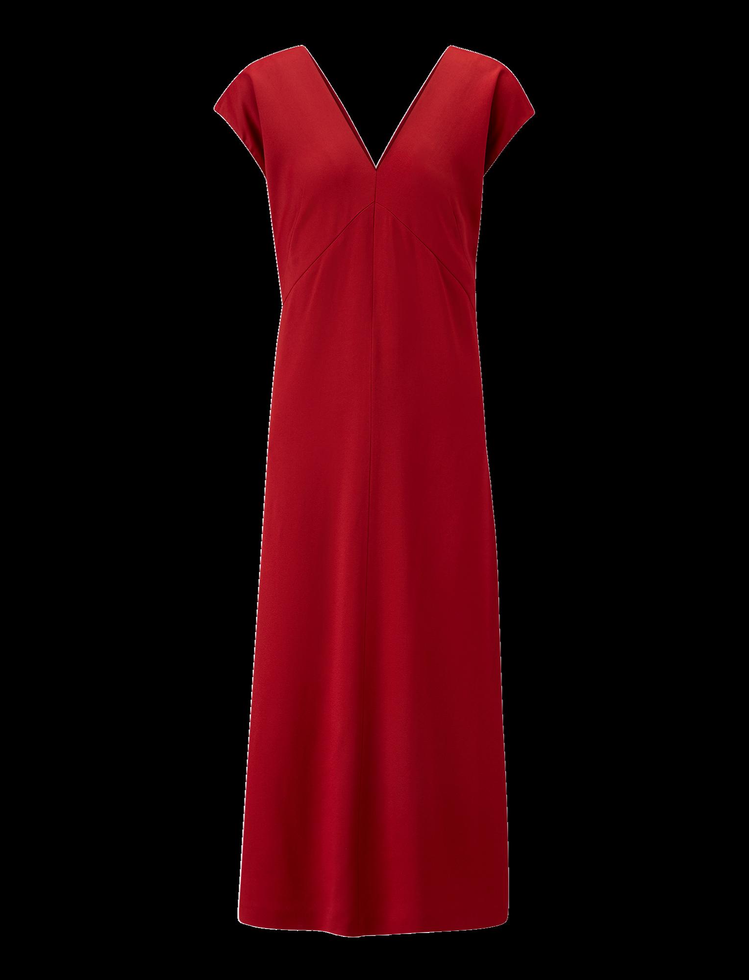 Joseph, Sienna Light Cady Dress, in RUBY