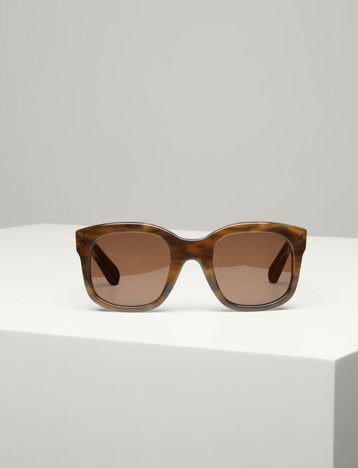 Joseph, Westbourne Sunglasses, in BROWN