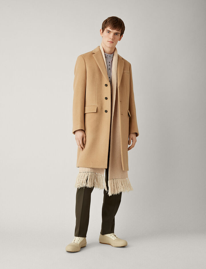 Joseph, London Wool Coat, in CAMEL
