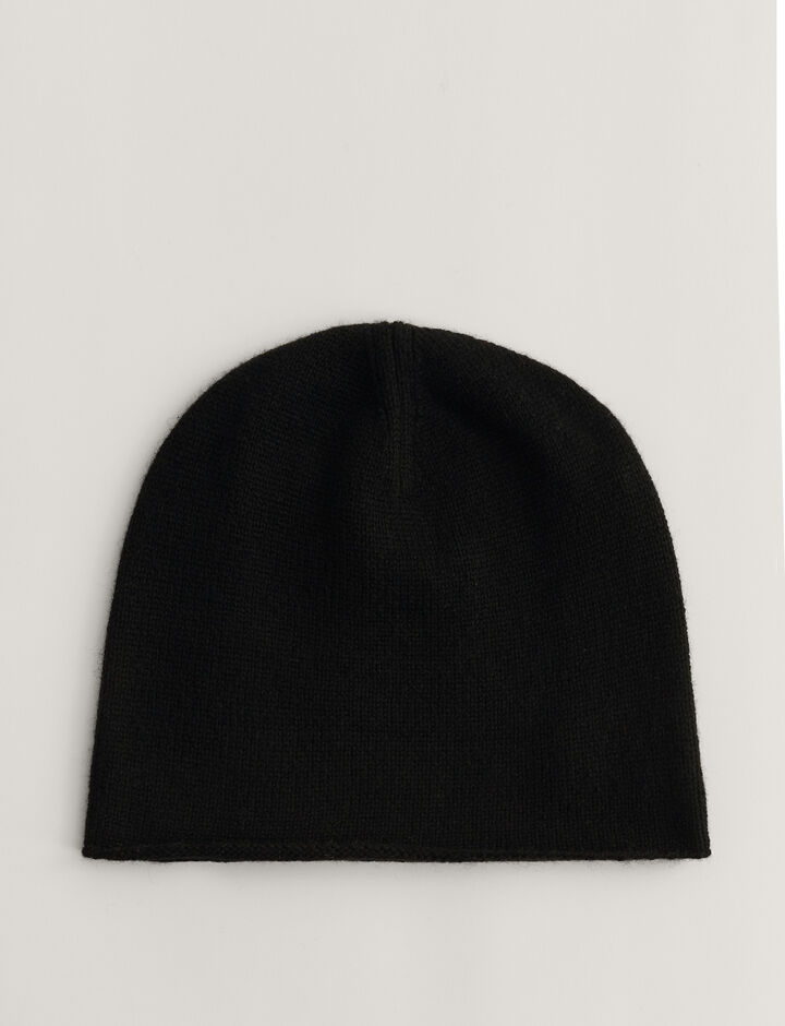 Joseph, Hat-Pure Cashmere, in BLACK