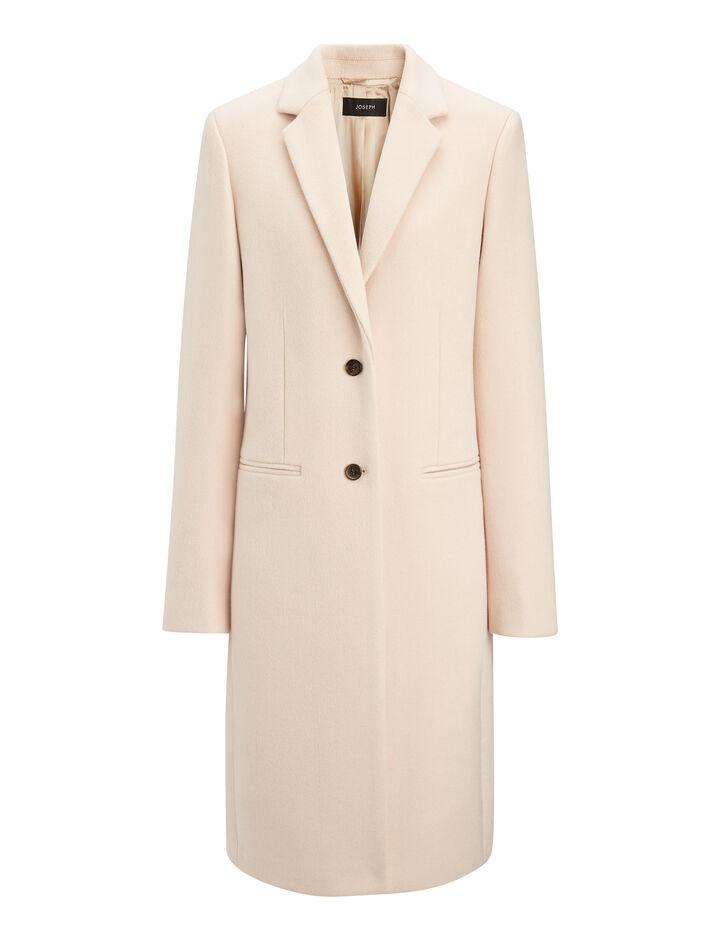 Joseph, New Wool Coat Martin Coat, in FONDANT