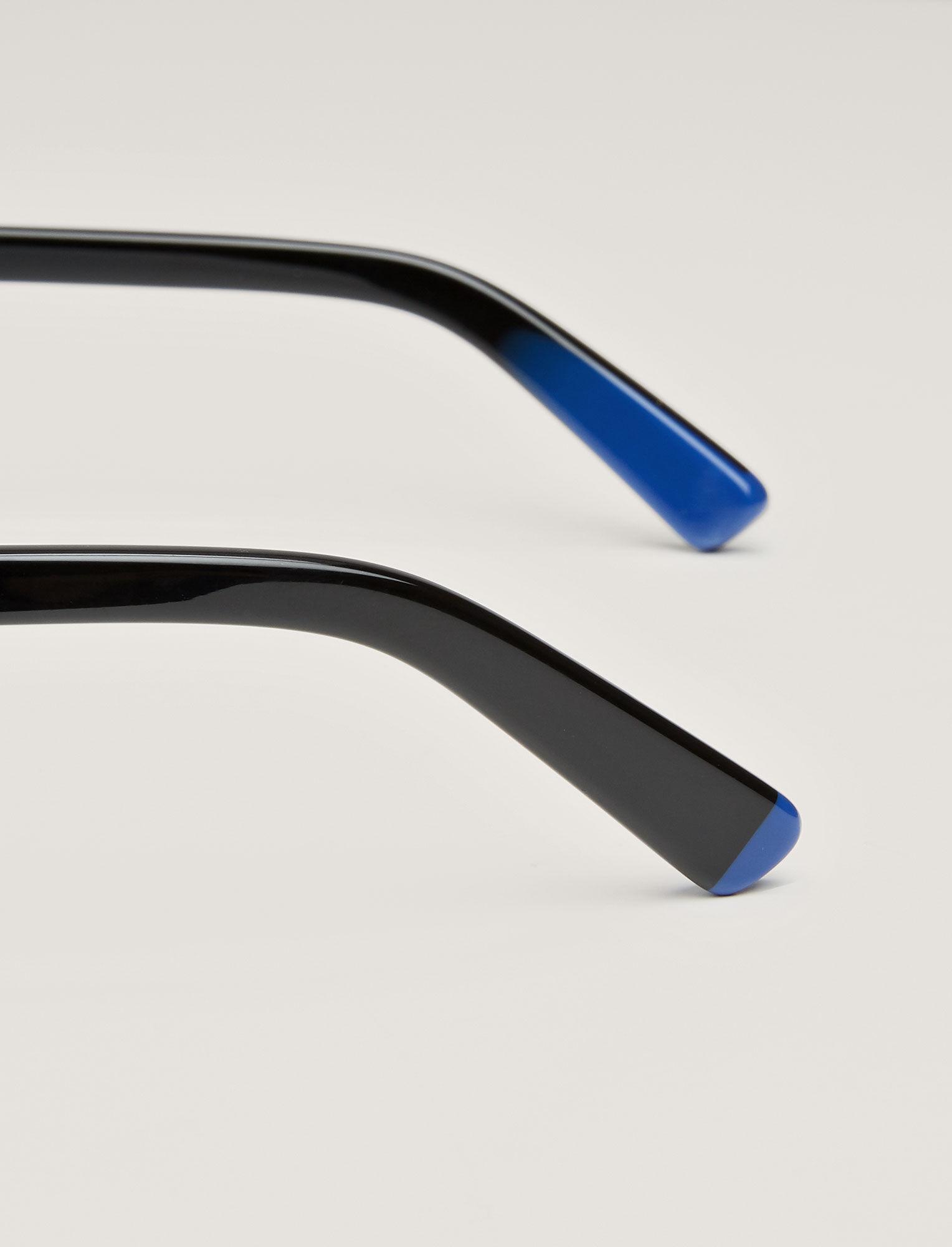 Joseph, Duke Sunglasses, in BLACK