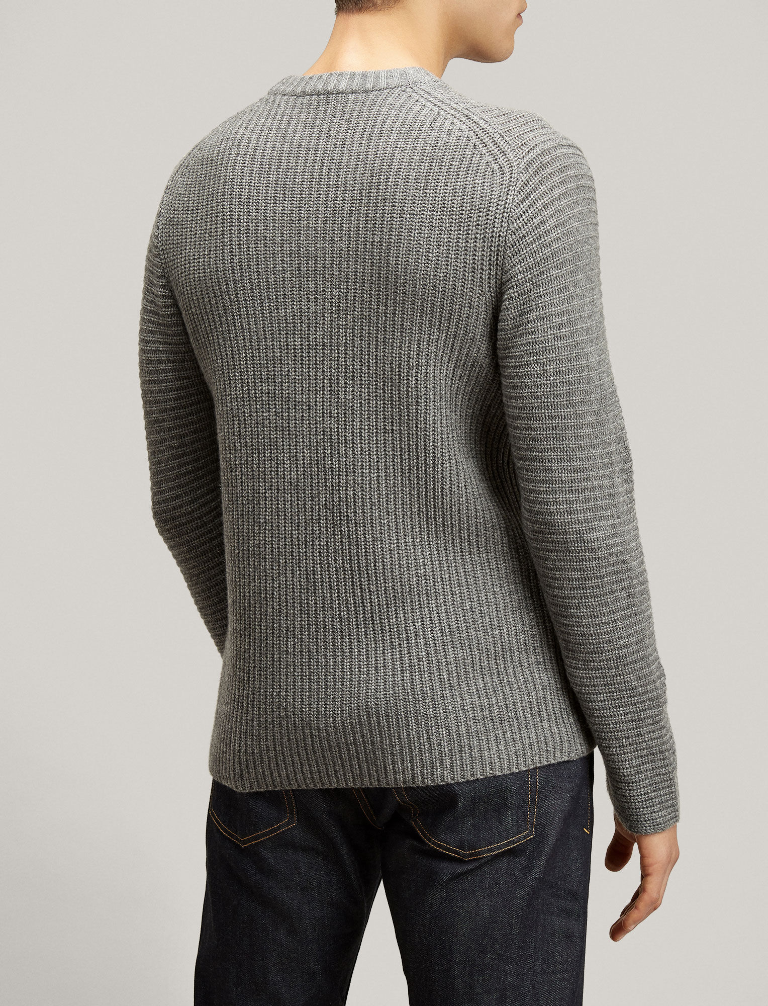 Joseph, Cardigan Cashmere Sweater, in GRAPHITE