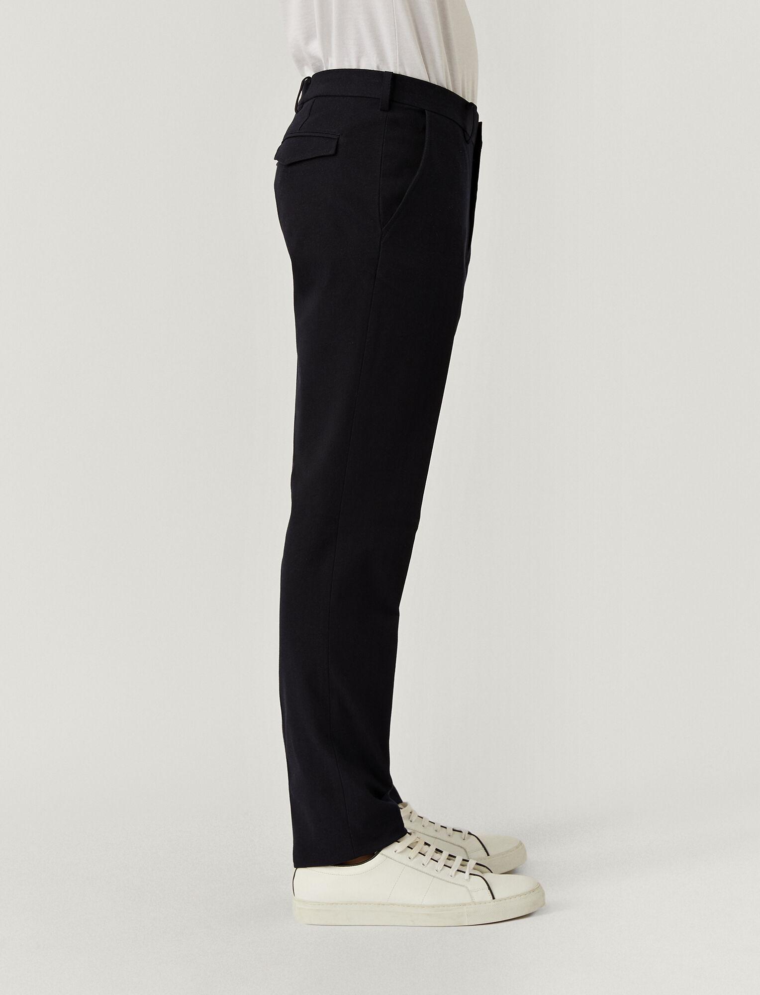 Joseph, Gabardine Stretch City Trousers, in NAVY