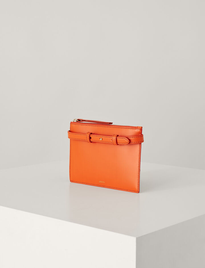 Joseph, Montmartre Leather Bag, in CARNELIAN