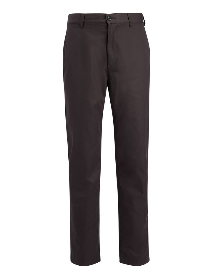 Joseph, Compact Chino Glen Trousers, in BLACK