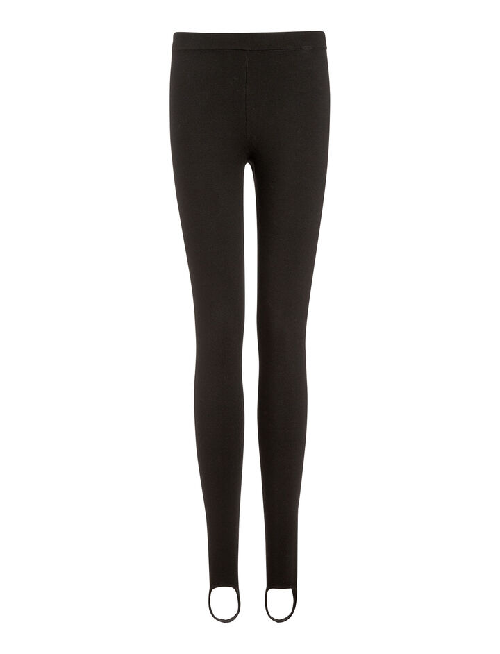 Joseph, Superfine Merinos Knit Legging, in BLACK