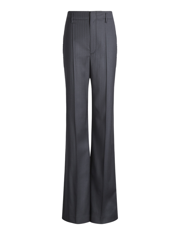 Joseph, Ido Pinstripe Stretch Trousers, in NAVY